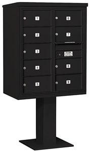 Salsbury 4C Pedestal 3410D-09 Black