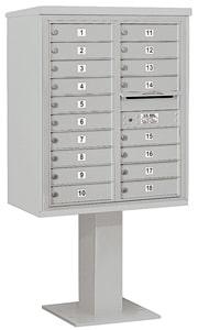 Salsbury 4C Pedestal 3410D-18 Gray