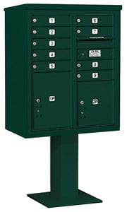 Salsbury 4C Pedestal 3410DA-09 Green