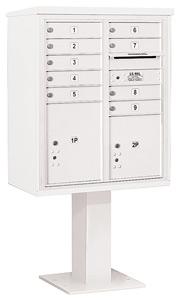 Salsbury 4C Pedestal 3410DA-09 White