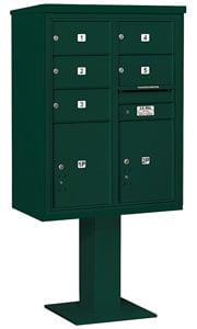 Salsbury 4C Pedestal 3411D-05 Green