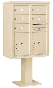 Salsbury 4C Pedestal 3411D-05 Sandstone