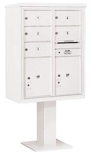 Salsbury 4C Pedestal 3411D-05 White