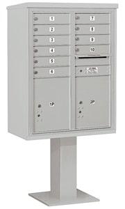 Salsbury 4C Pedestal 3411D-10 Gray
