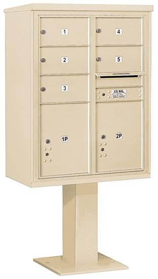 3411D05 Salsbury Commercial 4C Pedestal Mailboxes