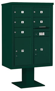 Salsbury 4C Pedestal 3412D-05 Green