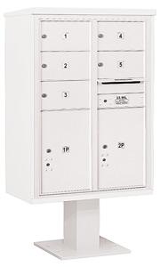 Salsbury 4C Pedestal 3412D-05 White