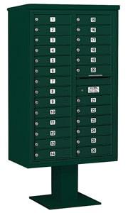Salsbury 4C Pedestal 3414D-26 Green