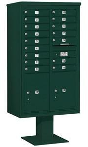 Salsbury 4C Pedestal 3415D-16 Green