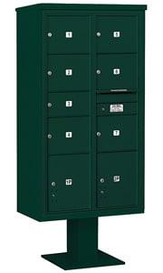 Salsbury 4C Pedestal 3416D-07 Green