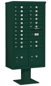 Salsbury 4C Pedestal 3416D-19 Green