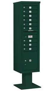 Salsbury 4C Pedestal 3416S-09 Green