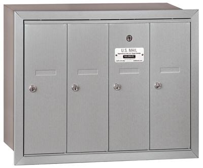 Salsbury 4 Door Vertical Mailbox 3504