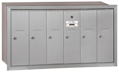 Salsbury 6 Door Vertical Mailbox 3506