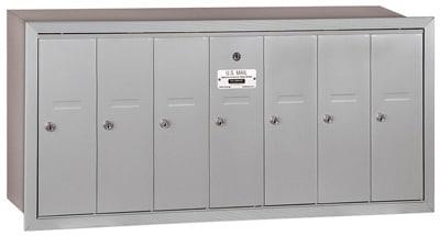 Salsbury 7 Door Vertical Mailbox 3507