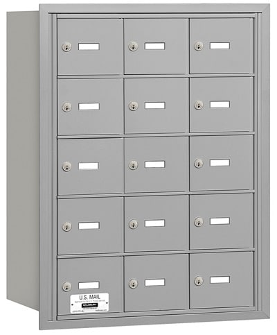 3615 Rear Loading Salsbury Horizontal Mailboxes