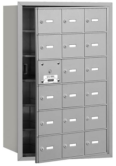 3618 Front Loading Salsbury Horizontal Mailboxes
