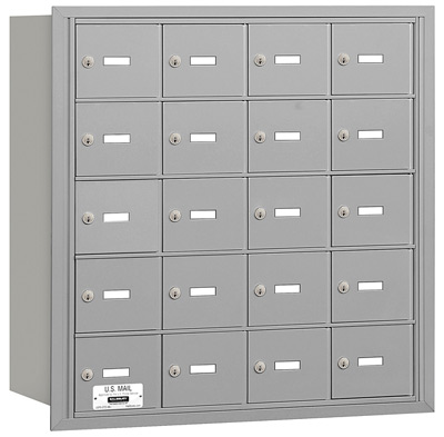 3620 Rear Loading Salsbury Horizontal Mailboxes