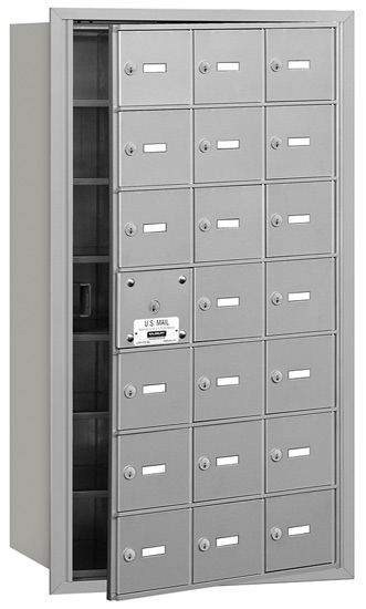 3621 Front Loading Salsbury Horizontal Mailboxes