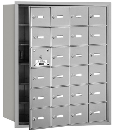3624 Front Loading Salsbury Horizontal Mailboxes