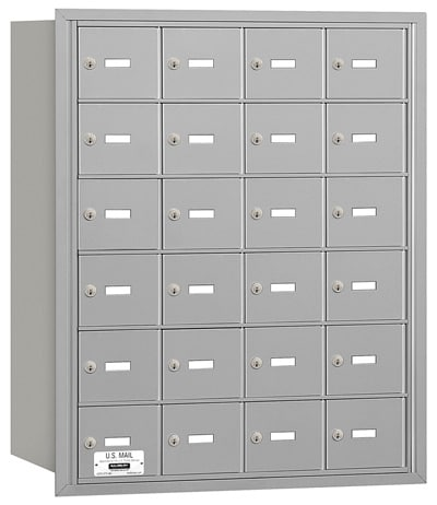 3624 Rear Loading Salsbury Horizontal Mailboxes