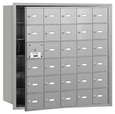 3630 Front Loading Salsbury Horizontal Mailboxes
