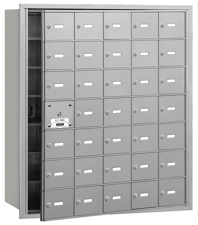 3635 Front Loading Salsbury Horizontal Mailboxes