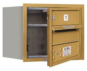 Salsbury 4C Mailboxes 3703S-01 Gold
