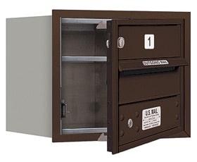 Salsbury 4C Mailboxes 3703S-01 Bronze