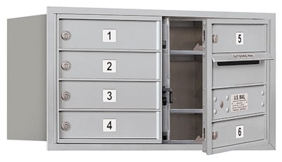 3704D06 Front Loading Commercial 4C Mailboxes