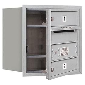 Salsbury 4C Mailboxes 3704S-02 Aluminum