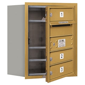Salsbury 4C Mailboxes 3705S-03 Gold