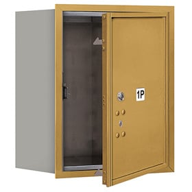 Salsbury 4C Mailboxes 3705S-1P Gold
