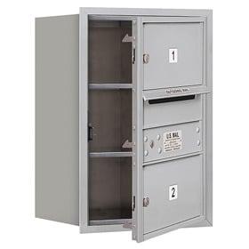 Salsbury 4C Mailboxes 3706S-02 Aluminum