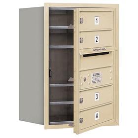 Salsbury 4C Mailboxes 3706S-04 Sandstone