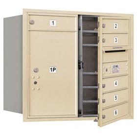Salsbury 4C Mailboxes 3707D-06 Sandstone