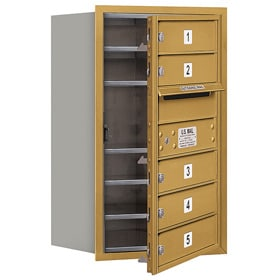 Salsbury 4C Mailboxes 3707S-05 Gold