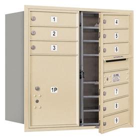 Salsbury 4C Mailboxes 3708D-09 Sandstone