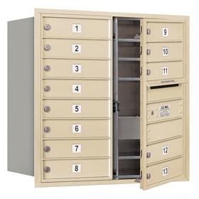 Salsbury 4C Mailboxes 3708D-13 Sandstone