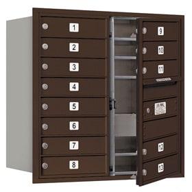 Salsbury 4C Mailboxes 3708D-13 Bronze