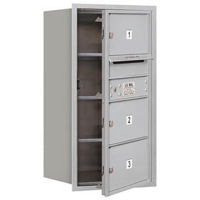 Salsbury 4C Mailboxes 3708S-03 Aluminum