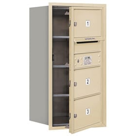 Salsbury 4C Mailboxes 3708S-03 Sandstone