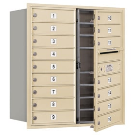 Salsbury 4C Mailboxes 3709D-16 Sandstone