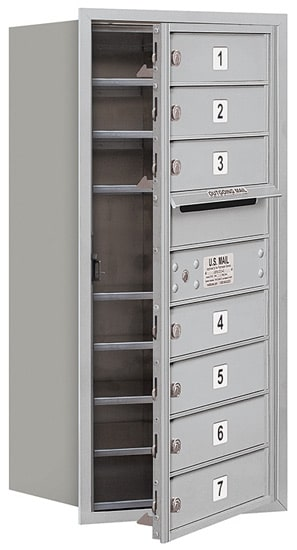 3709S07 Front Loading Commercial 4C Mailboxes