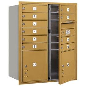 Salsbury 4C Mailboxes 3710DA-10 Gold