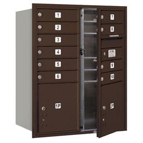 Salsbury 4C Mailboxes 3710DA-10 Bronze