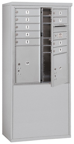 3710DA09 Free Standing Commercial 4C Mailboxes