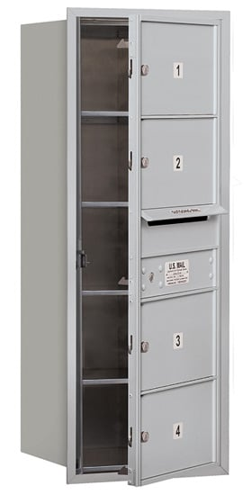 3710S04 Front Loading Commercial 4C Mailboxes