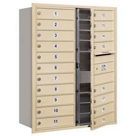 Salsbury 4C Mailboxes 3711D-19 Sandstone