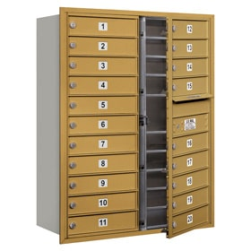 Salsbury 4C Mailboxes 3711D-20 Gold